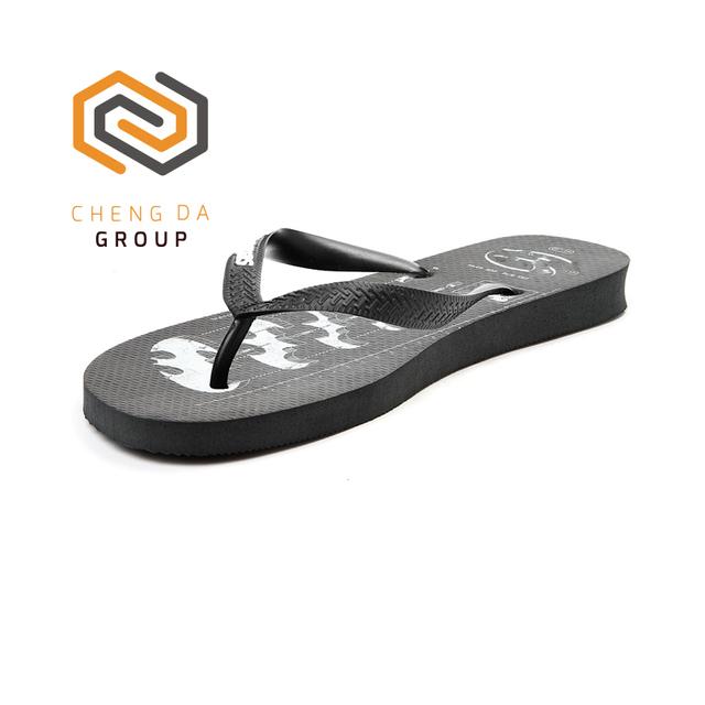 Custom Logo New Style Men Rubber Flip Flops Wholesale Slippers Latest Design