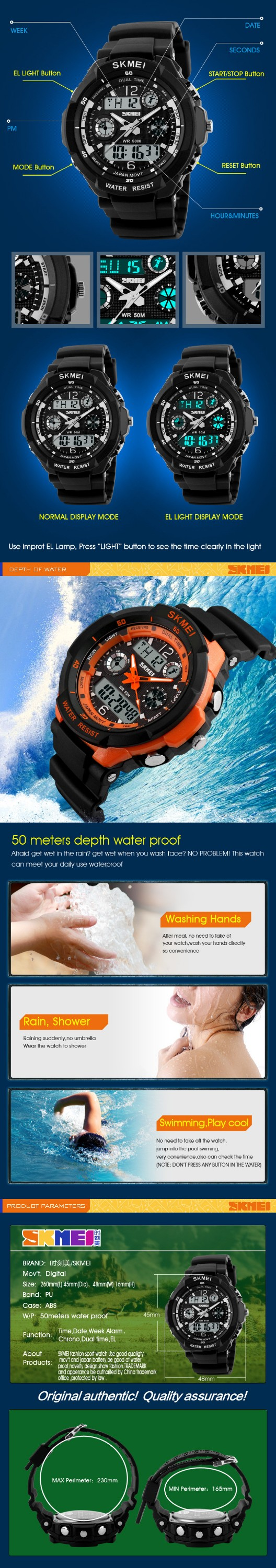 Luxury band skmei 0931 shock resistant waterproof sport watch digital for men