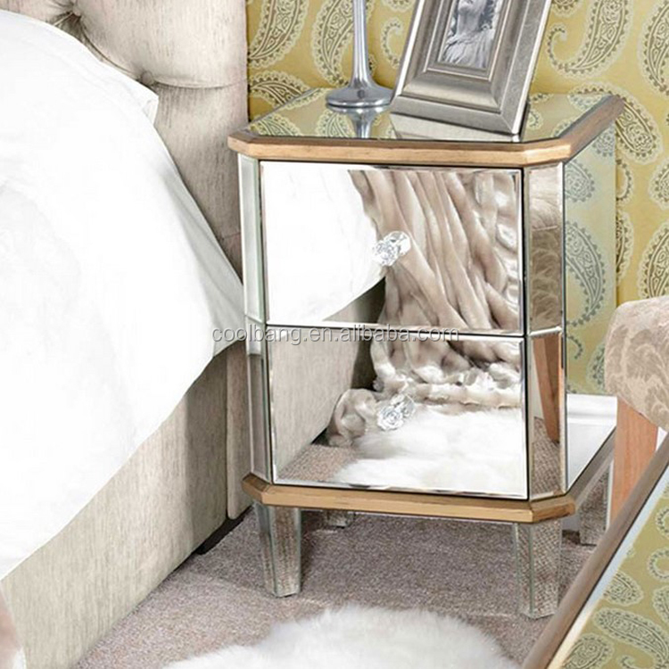 Hot sale simple wooden designs of dressing table with almirah