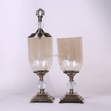 New arrival top sale blown glass vase hanging for wholesale