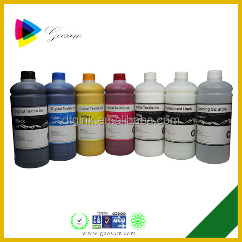 DTG ink for Apex-Jet M2 Direct-To-Garment Printer