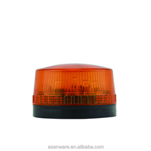 24V LED Strobe Warning Light with Red, Yellow, Blue lighting Color