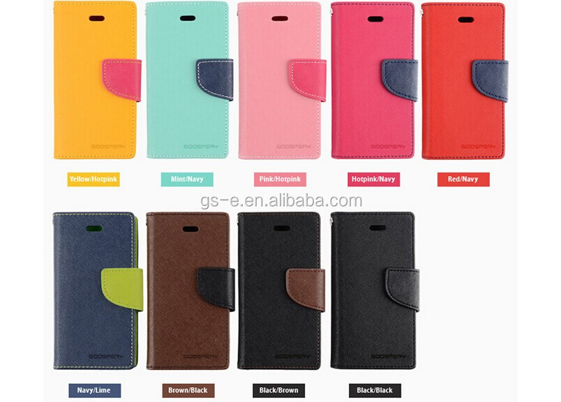 For Goospery Samsung Galaxy Mega 5.8 Case Fancy Diary Series Flip Wallet Diary Cover