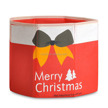 Non-woven foldable christmas ornament storage box, heavy duty storage box