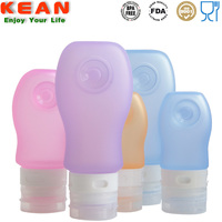 High quality colorful squeeze non-toxic mini soft silicone medical spray bottle