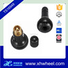 Auto Car Vehicle TR 413 Brass Snap-In Tire Tyre Valve Stem Short Rubber