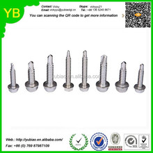 Stainless Steel Hex Washer Head Self Driling Screw