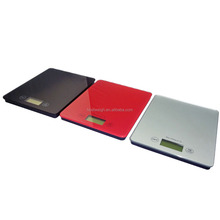 digital weight scale components with square platform for food, fruit, vegetable