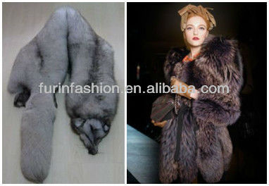 Factory Price Quality Blue Fox Fur Skin