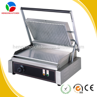 electric industrial panini grill/panini contact grill/commercial grill sandwich maker