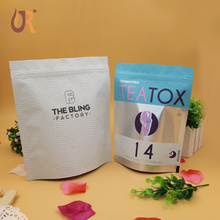 500g plastic stand up zipper tea packaging bag