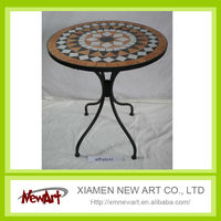 outdoor furniture marble mosaic table top
