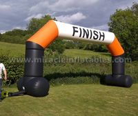 Cheap racing inflatable arch,inflatable arches,inflatable finish line C2003