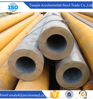 Alibaba Wholesaler Hot Rolled Seamless Carbon Steel Pipe for Oil and Gas Transmission
