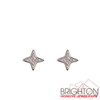 Star Gemstone Stud Earrings 2-6612-3230-3.5