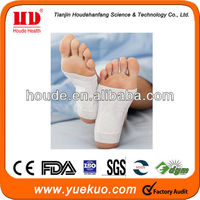 Natural Plant Extract Detox Foot Patch For Body Cleanse