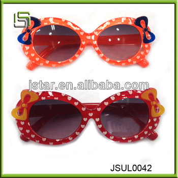 Hot sale cheap fashion children sunglass