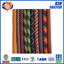 10.5mm nylon mountain climbing rope with cheap factory price