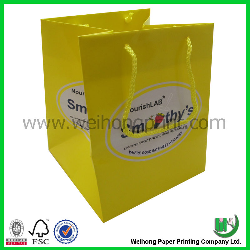 Best quality hot sell wedding paper party favor bag