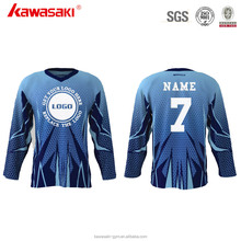 2017 Wholesale Sportwear Digital Printing Team Club Hockey Jersey Customized Sublimation Ice Hockey Jerseys Ice Hockey Wear