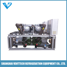 1400kW cooling capacity Marine water cooled water chiller