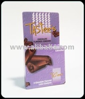 Chocolate Flavored Condoms - 3pack Tastee's