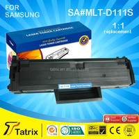for Samsung MLT-D111S, Compatible MLT-D111S Toner Cartridge for Samsung SL-M2020, With 1 Year Warranty.