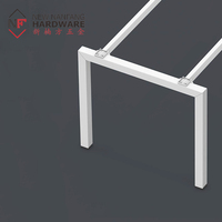 Wholesale price office furniture steel tube table legs square