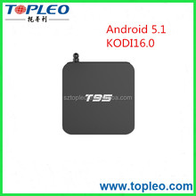 Android Quad Core T-95 TV Box 5.1 analog media player