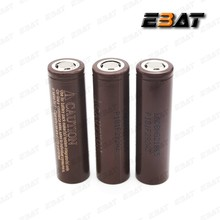korea 18650 lgdbhg21865 choco 3000mah 3.7v 20a high drain vape aaa battery