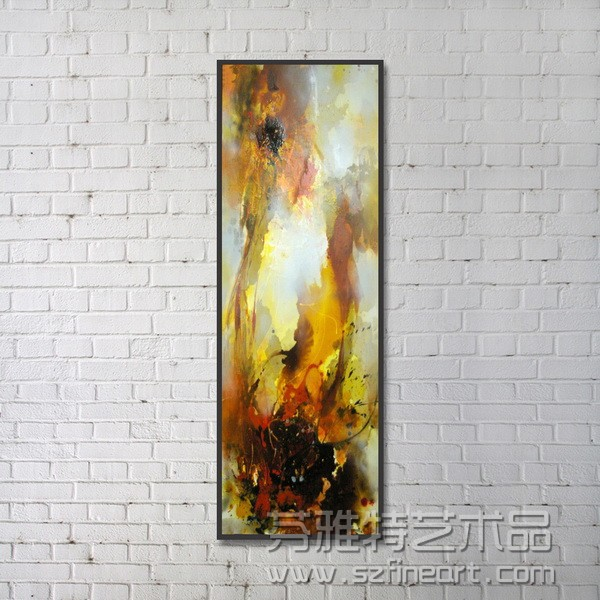 Handmade oil paintings of abstract landscape for sale