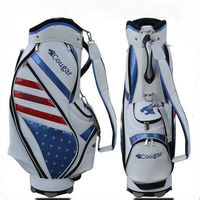 poly and crystal fashion design your own golf bag for professional golfer