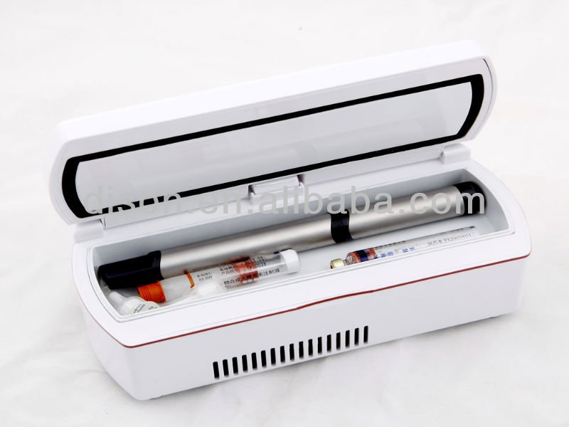 Plastic Cooler Box Diabetes Pen Box