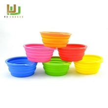 Designer manufacture newest silicone foldable bowl for pets
