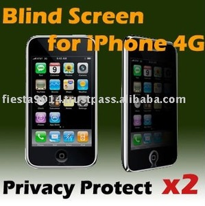 Privacy protect filter 2way for Apple iPhone 4G