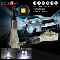 H7 H13 9004 9007 Car auto xenon light HID headlight bulbs LED replacement Hi/Lo Hid kit 9007 6000k led headlight comparison