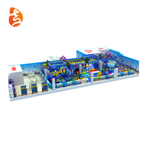 Supply Safe Big Colorful Antique Playland Indoor Playground Entertainment Equipment