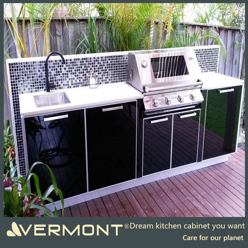 2017 China Factory Customized Modern Outdoor bbq Kitchen