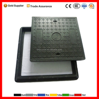 BS EN124 with top quality hot sell from Chinese gold manufacturer SMC BMC manhole cover replace concrete sewer cover