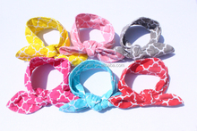 China make Stretch baby hair bands Baby girl Knot Headband