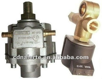 Bifuel system CNG diesel high pressure reducing valve for engine