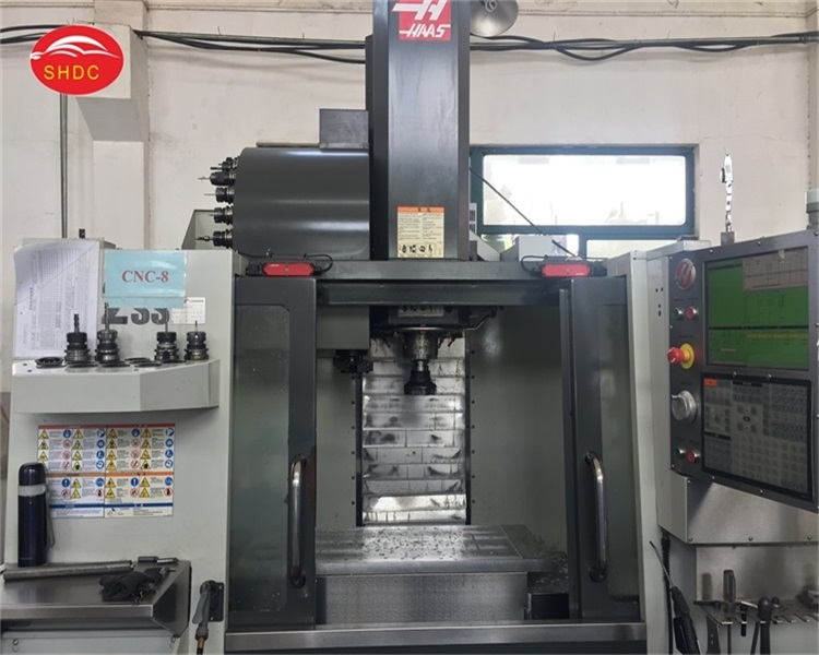 3 axis CNC Machining workshop, customized metal parts, prototype