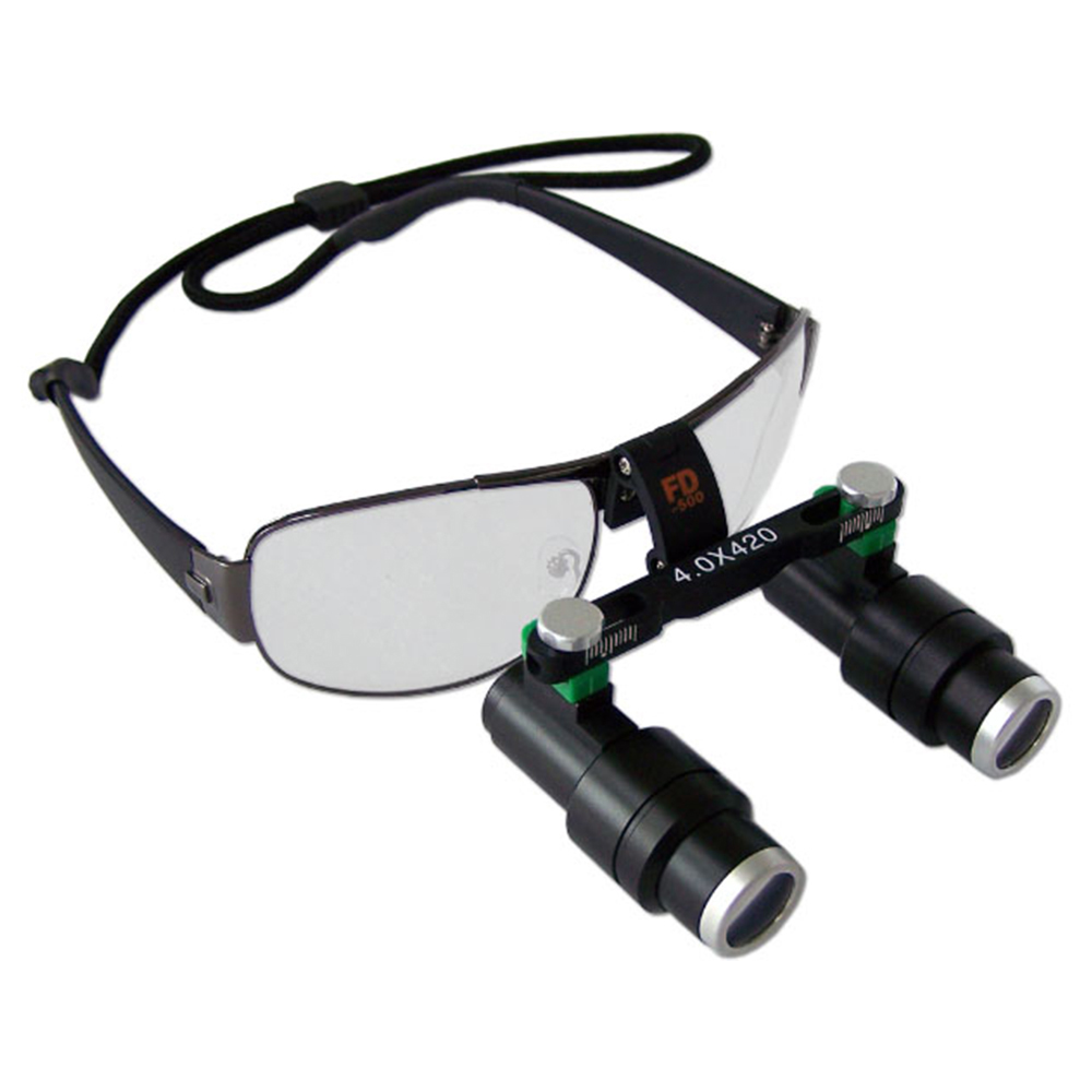 6.0x Dental Loupes for Medical Galileo Magnifier