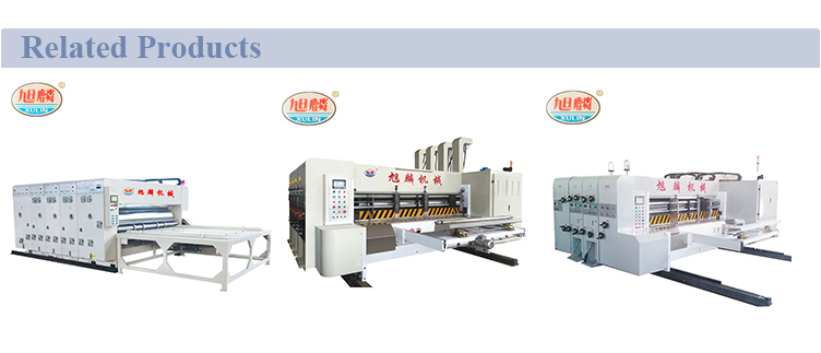 Xulin - C Series Automatic High Speed Corrugated Printer Slotter Machine