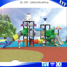 Rubber-coating outdoor playground equipment