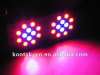 Nouveau Style 72W Hydroponics Grow Lamp Light 3W Leds Panel Round / Square Mould