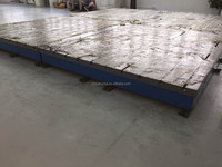 Cast iron inspection platform 6000*5000*300mm for Volvo company