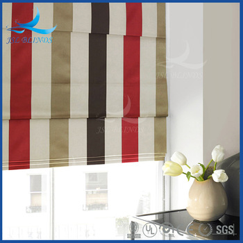 J.S.L on Sale Ring/Colorful Patterns for Wholesale Roman Shades