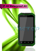 android phone 4.3inch Android 4.2.2 unlocked A9 Dual SIM card dual standby gsm waterproof cell phone