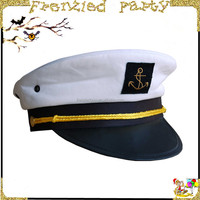 wholesale police white captain hat FGH-1009
